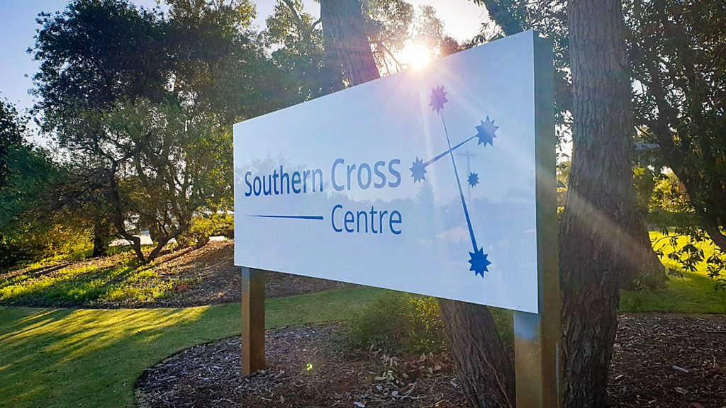 Southern Cross Centre Church Sign